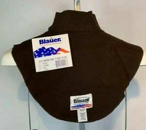 NWT Blauer Brown Law Enforcement 8119 Police Dickie Mock Turtleneck Collar (G37)
