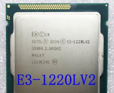 Intel Xeon E3-1220L V2 17W GEN8 2.3 GHz 5 GT/s LGA 1155/Socket H2 CPU Processor