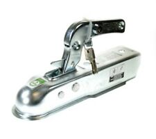 Pressed Steel 50mm Trailer Tow Hitch Coupling with Lock