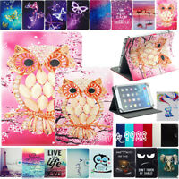 "Universal PU Leather Folio Stand Case Cover For 7"" 8"" 9.7"" 10"" 10.1"" inch Tablet"