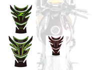 3D Gel Fuel /Gas Protector Tank Traction Pads For Kawasaki Z1000 2010-2013