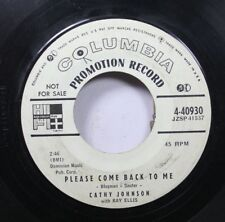 50'S & 60'S 45 Cathy Johnson With Ray Ellis - Please Come Back To Me / My Johnee