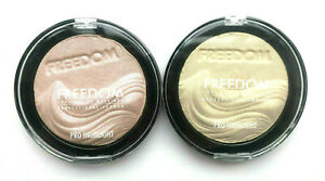 FREEDOM MAKEUP Pro Highlight - Glow / Brighten Highlighter Compact Powder
