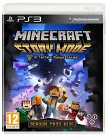 Minecraft: Story Mode PS3 A Telltale Game Series - Season Disc PS3 - MINT - Fast