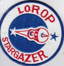 USAF air force LOng-Range Oblique Photography LOROP F-104 G starfighter patch