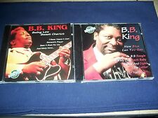 2 B.B. King CD Lot Swing Low Sweet Chariot/ How Blue Can You Get NRMT Free Ship