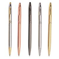 Rose Gold Ballpoint Pen With Style  Black Ink Promotional Pens Gift