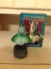 Mike Mignola's Abe Sapien Mini bust sculpted by Randy Bowen #454/3000