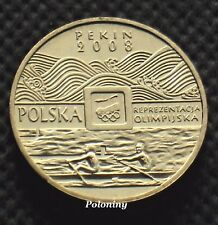COIN OF POLAND - 2008 SUMMER OLYMPIC GAMES BEIJING PEKIN CHINA (MINT)