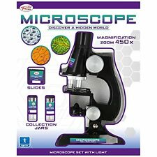 Toyrific Children's Microscope Set with Light