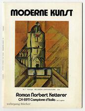 Ketterer: arte moderna, Catalogo per Arte Fiera Basilea 1976.