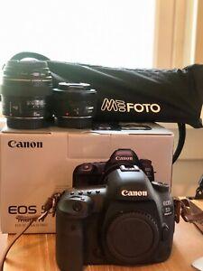 Canon EOS 5D Mark IV 30.4MP Digital SLR Camera - Black (Body + Accessories)