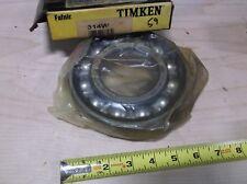 TIMKEN 314W Radial Bearing, Open, 70mm Bore
