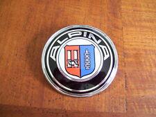 2 ALPINA LOGOS EMBLEMES CAPOT ET COFFRE BMW E28 E30 88mm + 82mm