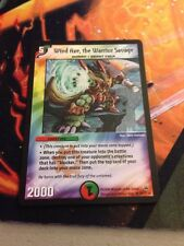 Wind Axe, The Warrior Savage NM/M Duel Masters