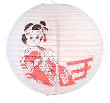 PL114: 16'' Chinese Japanese Paper Lantern Geisha Kimono Party Decoration New!