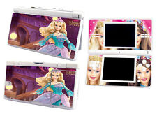 Skin Sticker to fit Nintendo DS Lite - barbie