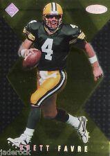 Brett Favre 1998 Collector's Edge Masters Gold Redemption #S180 (#469/500)