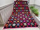 Moroccan Handmade Berber Beni Ourain Vintage Rug Tribal Wool Carpet