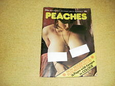 rare oop PEACHES No 35 Mens Monthly adult material vintage UK Copyright 1975 18+