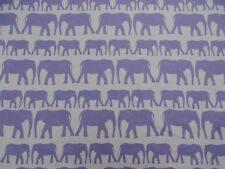 Andrew Martin Curtain Fabric 'PARADE' Denim 1 METRE (100cm) 100% Cotton