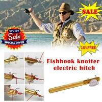 Practical Knot Line Tying Knotting Tool Manual Portable Fast Fishing Tools 95#
