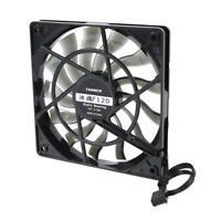 Thin 12mm Thickness 120X120X12mm 12V Desktop Computer Host Quiet Fan with S X4Y4