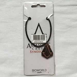 """Assassin's Creed Syndicate Necklace Official Collector """"NEW"""" SEALED"""