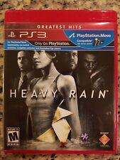 Heavy Rain Greatest Hits Sony PlayStation 3 PS3 *Complete*