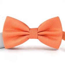 Black NEW Men Bow Tie Adjustable Checkered Bowtie Plaid Tuxedo Wedding Pre Tied