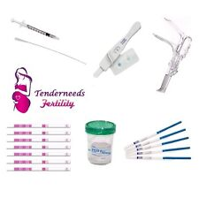 Insemination IUI Kit For Women Male Fertility Tests Pregnancy & Ovulation Human