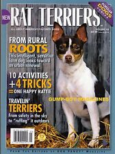 """RAT TERRIERS of Dog Fancy Magazine FROM SAFETY IN THE SKY TO """"RUFFING"""" OUTDOORS"""