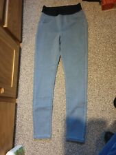 George Size 8 Short Length Jeggings Light Blue Leggings New Without Tag