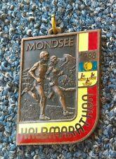 MONDSEE HALBMARATHON 1988. Austria vintage medal, plaque !