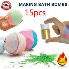 15 Color/Set Mica Pigment Powder Perfect for Soap Cosmetics Resin Colorant 10g