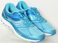 Saucony S10350-1 Guide 10 Everun Blue Mesh Running Sneakers Women's US 12