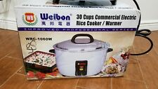 Brand New Welbon 30 Cups Commercial Electric Rice Cookerwarmer Wrc 1060w