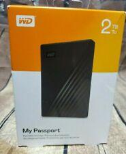 WD My Passport Portable 2TB Storage Password Protection