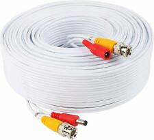 New listing Video Power Cable 60 Feet Pre-Made All-in-One Video Security Camera Cable Wire