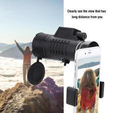 Monoculare 50X60 Zoom Ottico Telescopio + Clip + Borsa Per Cellulare Smartphone