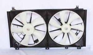 For 2006-2012 Lexus IS250 Dual Radiator & Condenser Fan