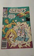 Star wars : Droids #2 ,1986 marvel ,canadian newsstand  price  variant
