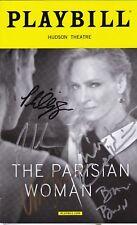 """The Parisian Woman"" - Signed Playbill - Signed by Uma Thurman"
