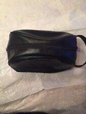 Perry Ellis Portfolio Black Waterproof Travel/Toiletry Bag