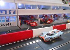 1/32 slot car Scenery Jersey Barrier Guard Rails Ninco Scalextric Slot It NSR
