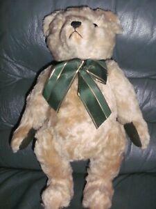 Teddy Hermann UK Bear 1998 mohair 104 of 1000 tilt growler