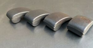 Lot of 4 Brand New Auto Body Wedge Dollies 3 Pounds 2 oz. Each Unfinished U.S.A.