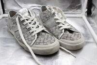 Women's Coach Fillmore Shoes Sneakers Silver Size 9B