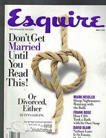 Esquire Magazine May 1996 Michael Jordan Stephanie Seymour Nathan Lane