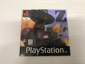 Playsation PS1 - Manual/Instruction Genuine OEM For Game Z The Bitmap Brothers